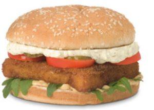 De Alaska Fish Burger van Wereldburgers